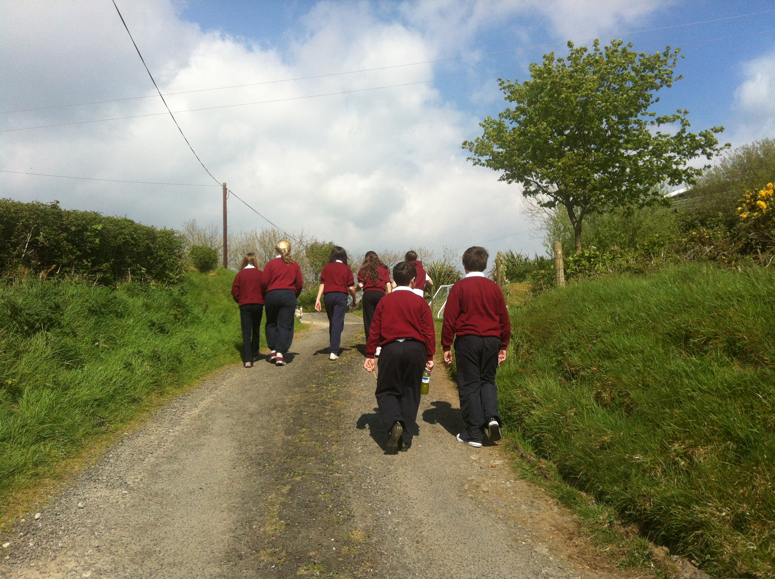 Walking in Ballyheerin