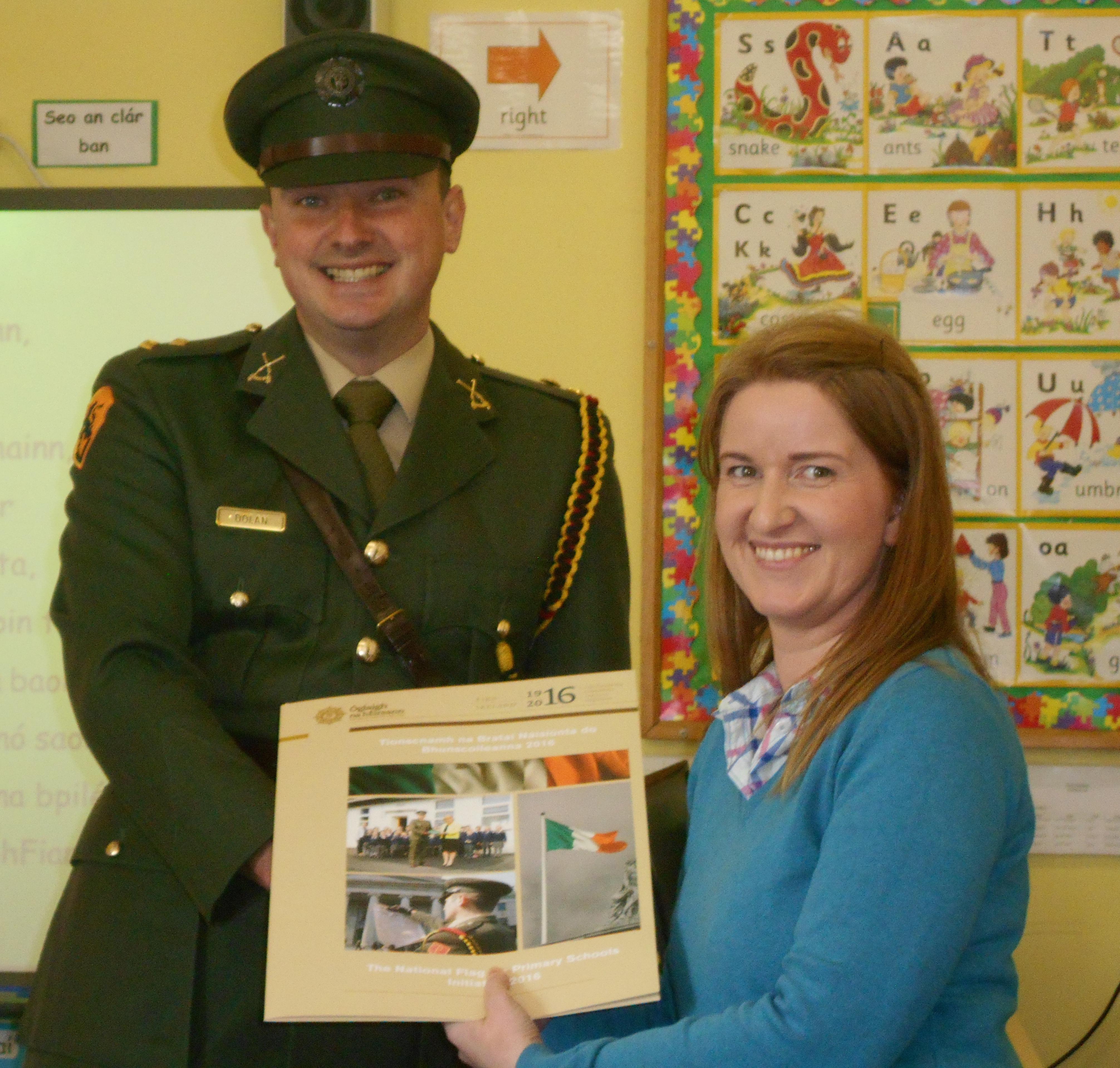 Presentation of Irish Flag