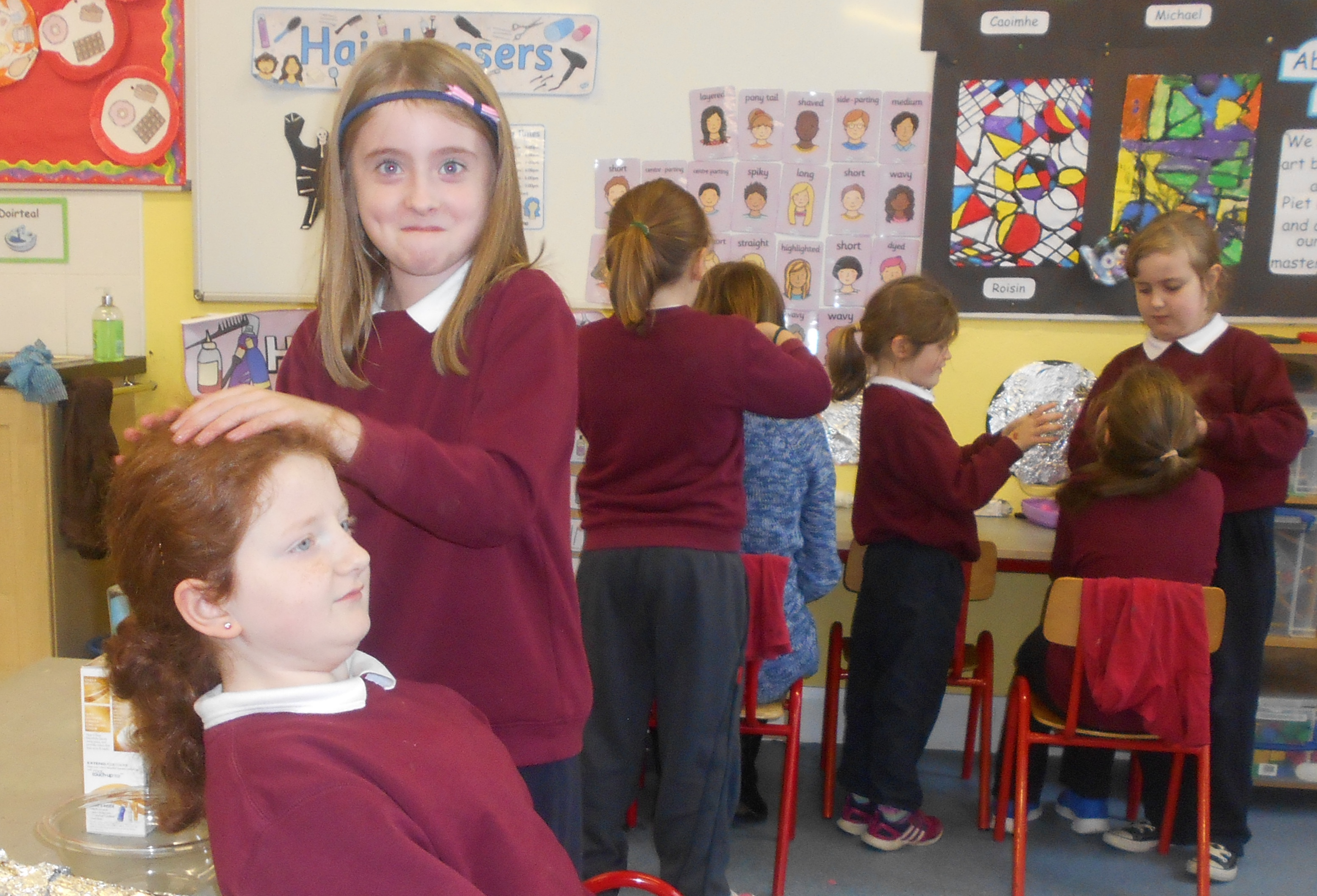 Aistear Play Hairdressers
