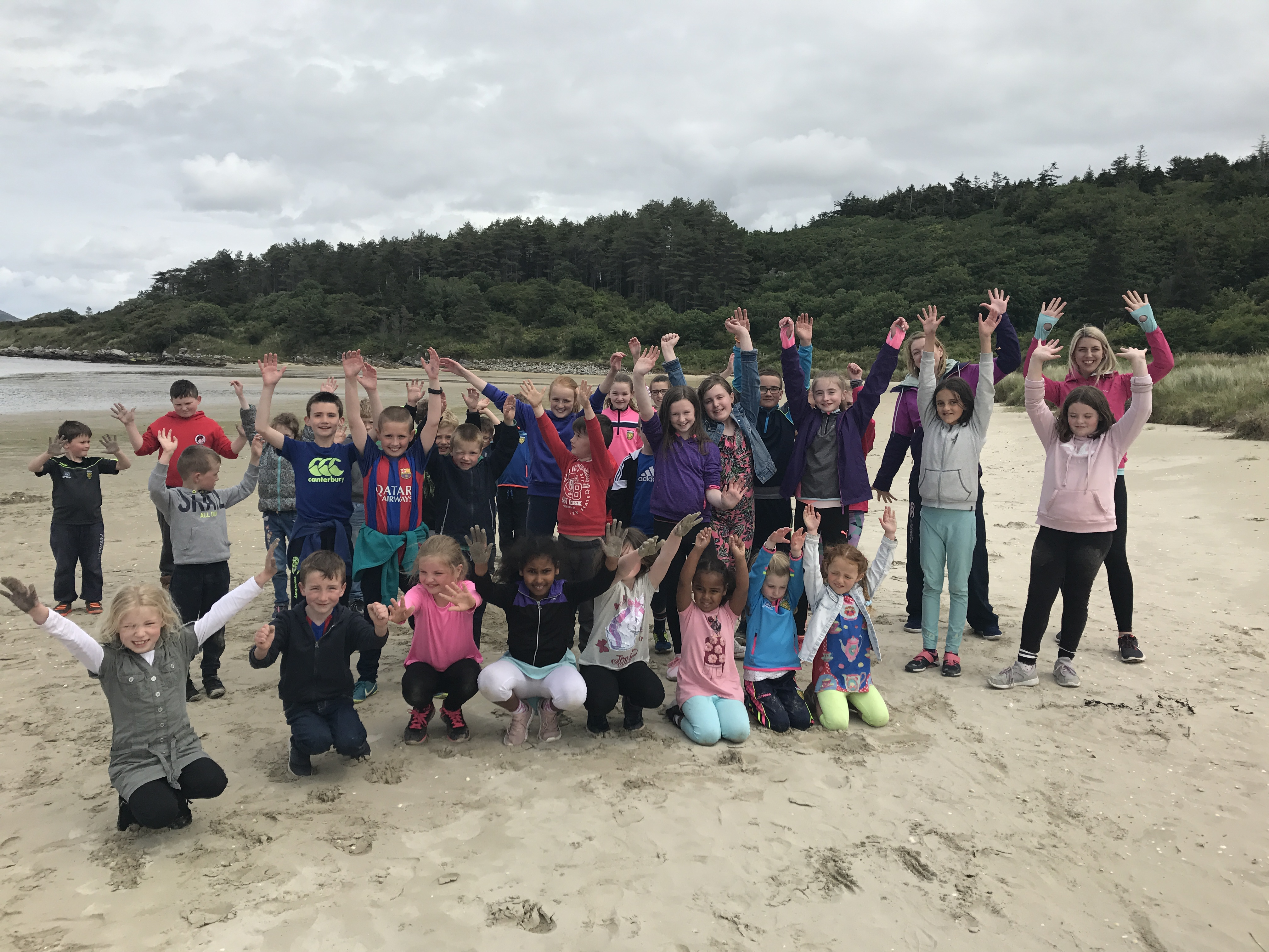 Fun at Ards with Drumfad NS